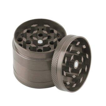 Harga 4-Layer Spices Herbs Tobacco Grinder Crusher 55mm (Grey) - intl