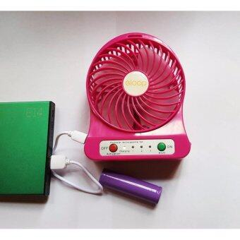 eloop Mini Fan พัดลมพกพาขนาดเล็ก