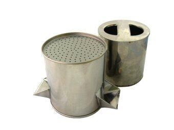 Thai Style พิมพ์กดขนมจีนสเตนเลส - Silver