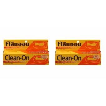 คลีนออน น้ำยาทำความสะอาดเตารีด Clean-On 60 กรัม x 2 อัน