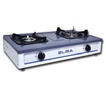 ELBA เตาแก๊ส อีนาเมล หัวคู่ รุ่น EBG-2294