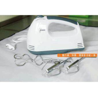 Tmall Electric 7 Speed Egg Beater Flour Mixer Mini Electric Hand Held Mixer (White) (image 2)