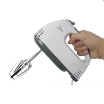 Tmall Electric 7 Speed Egg Beater Flour Mixer Mini Electric Hand Held Mixer (White) (image 1)