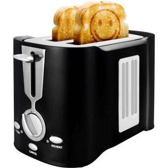 SUMMER Smiley Toaster เครื่องปิ้งขนมปังอมยิ้ม - สีดำ