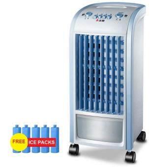 DJSHOP พัดลมไอเย็น รุ่น L18J(สีน้ำเงิน)
