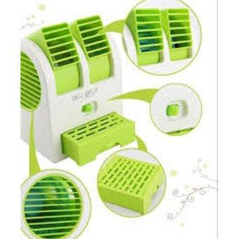 Fan mini พัดลมไอน้ำพกพา (สีเขียว)