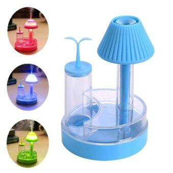 Harga Table Lamp Humidifier-Blue - Intl