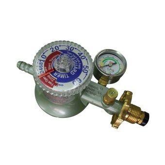 SCG หัวปรับแรงดันต่ำ แบบตัดแก๊ส ตั้งเวลาได้ มีเกจ์แรงดันแก๊ส R-500