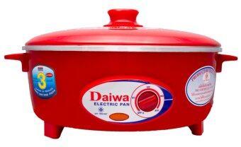 Daiwa กระทะไฟฟ้า รุ่น PN 9001 ขนาด 12 นิ้ว (สีแดง)