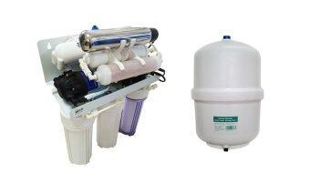 Fast Pure เครื่องกรองน้ำดื่ม 7 ขั้นตอนระบบ RO-UV น้ำแร่ คุณภาพดี (รับประกัน 1ปี)