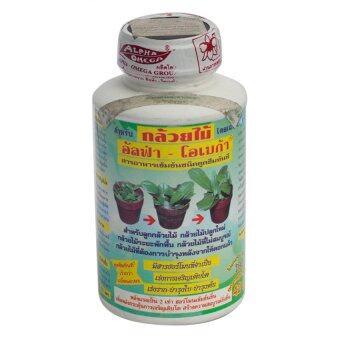 Liquid Plant Food อัลฟ่า-โอเมก้า เร่งการเจริญเติบโต เร่งราก ต้น ใบ ขนาด 250ซีซี (1ขวด)