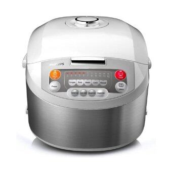 Philips หม้อหุงข้าวคอมพิวเตอร์ - รุ่น HD3038 silver