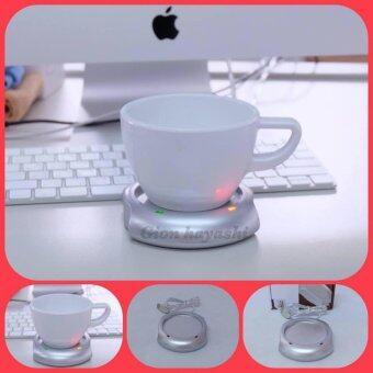 Hayashi-เครื่องอุ่นแก้ว ชา กาแฟ และ เครื่องดื่มร้อน พกพา Rainbow Cup Warmer (Black)