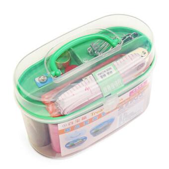 DIY Sewing Box ชุดอุปกรณ์เย็บผ้าอเนกประสงค์แบบพกพา All in one