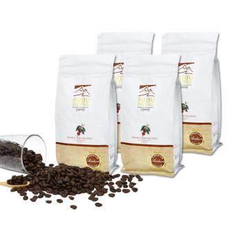 PHOU PHIENG เมล็ดกาแฟคั่วพิเศษ คั่วกลาง-เข้ม Specialty Medium-Dark Roasted Coffee 100% Arabica (4 ถุง x 250g.)