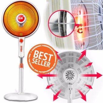 Electric Heater Fan Timing พัดลมทำความร้อนตั้งพื้น ปรับหมุนได้+ตั้งเวลาได้ (รุ่นประหยัดไฟ) 900W