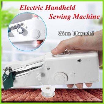 Hayashi- จักรเย็บผ้าไฟฟ้ามือถือ ขนาดพกพา Handheld Sewing Machine - White
