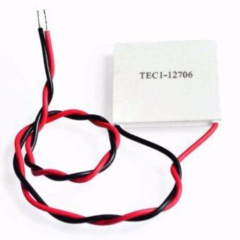 เพลเทียร์ แผ่นทำความเย็น - ร้อนTEC1-12706 12706 TEC Thermoelectric Cooler Peltier 12V