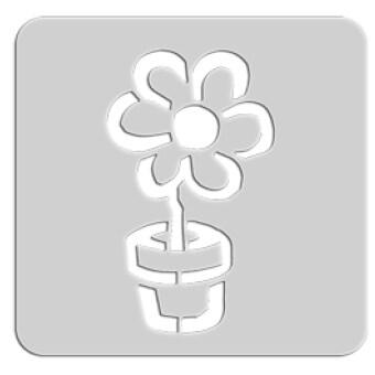 Summer แผ่นเพลทเครื่องปิ้งขนมปัง รูปดอกไม้