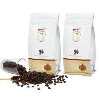 PHOU PHIENG เมล็ดกาแฟคั่วพิเศษ คั่วกลาง-เข้ม Specialty Medium-Dark Roasted Coffee 100% Arabica (2 ถุง x 250g.)