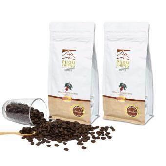 PHOUPHIENG พูเพียง กาแฟแท้คั่วบดพิเศษ อาราบิก้า 2 ถุง (1 ถุง-250g)