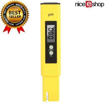 check ราคา niceEshop ดิจิตอลมิเตอร์ค่า ph ทดสอบค่า ph ด้วย ATC, 0.02 ค่า ph สูงความถูกต้อง 0.00...14.00 ช่วงการวัดค่า ph ทดสอบคุณภาพน้ำ การปรับอัตโนมัติ แนะนำ