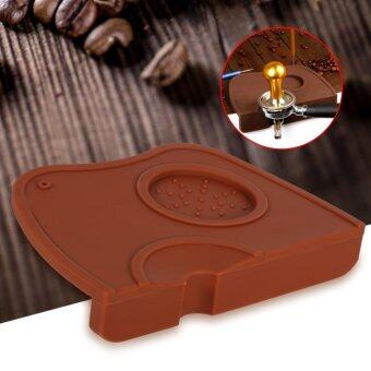 Harga Silicone Anti-slip Espresso Coffee Tamper Holder Pad (Coffee) - intl