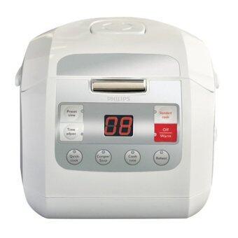 PHILIPS หม้อหุงข้าวดิจิตอล รุ่น HD3030 (White)