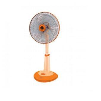 SHARP พัดลมสไลด์ตั้งพื้น18นิ้ว PJ-SL181 (สีส้ม)