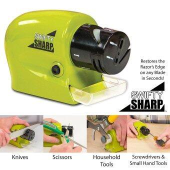 SWIFTY SHARP ที่ลับคมแบบมอเตอร์ไร้สาย ลับมีด, กรรไกร, คีมตัด, ไขควง สรรพัดประโยชน์ 1 ชิ้น