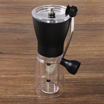 สั่งซื้อ LZ Ceramic Slim Mill Manual Coffee Bean Hand Grinder Kitchen Coffeeportable Tool - intl คลิ๊กที่นี่ !!!