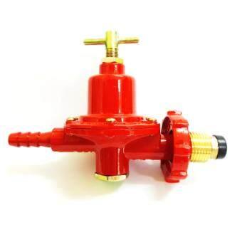 SCG หัวปรับแก๊ส แบบแรงดันสูง หัวเกลียวทองเหลือง รุ่น R924