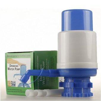 ปั้มน้ำมือกด ใส่ในถังน้ำ 20 ลิตร ไม่ต้องยกให้เมื่อย ใช้ง่าย กดง่าย แป้นกดใหญ่