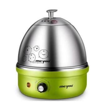 DJSHOP เครื่องต้มไข่ หม้อนึ่งอเนกประสงค์ สแตนเลส รุ่น MY-35A (สีเขียว)(Green)