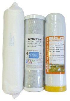 MATRIKX Water Filter ชุดไส้กรองน้ำ Gold Set A