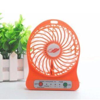 1688 thailand Mini fan พัดลมพกพาขนาดเล็ก ชาร์จสายUSB ใส่ถ่าน ลมแรง