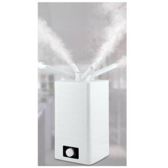 DJSHOP เครื่องเพิ่มความชื้นในอากาศขนาดใหญ่ พ่น 4ทาง 11L Humidifier รุ่น H-010-4 (สีขาว)