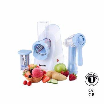 Index Living Mall เครื่องทำไอศครีม & หั่นผักสลัด Cusino 0.36 ลิตร - รุ่น GELATONI - สีขาว