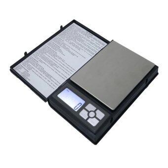 iNno เครื่องชั่งดิจิตอลแบบพกพา รุ่น Notebook 2000g - Black