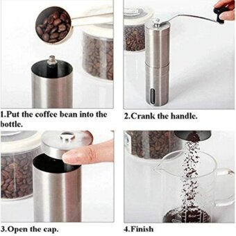 iRemax Stainless Steel Manual Coffee Bean