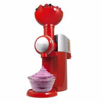 สนใจซื้อ JOWSUA เครื่องทำไอศครีมผลไม้ Fruit Ice cream machine-สีแดง