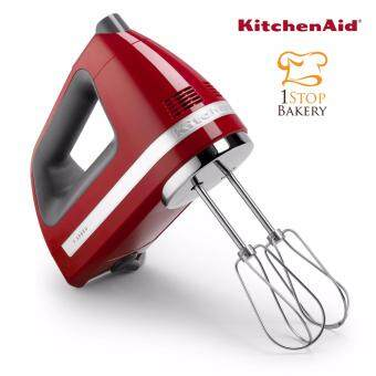 KITCHENAID เครื่องผสมอาหารมือถือ Kitchen Aid (KitchenAid) 5KHM720AWER Hand Mixer 7 Speed Empire Red
