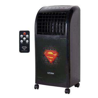 KOOL+ พัดลมไอเย็น พร้อมรีโมทคอนโทรล ลิขสิทธิ์ ลาย SUPER MAN Redรุ่น AB-604
