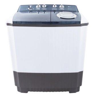 ประเทศไทย LG เครื่องซักผ้าสองถัง ขนาด 10.5 กก. - รุ่น WP-1350WST