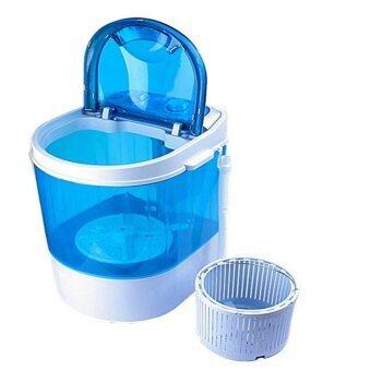 เครื่องซักผ้ามินิ mini washing machineเครื่องซักผ้าจิ๋วใช้ซักเสื้อผ้าจำนวนน้อย ชุดชั้นใน ถุงเท้าประหยัดไฟประหยัดน้ำ
