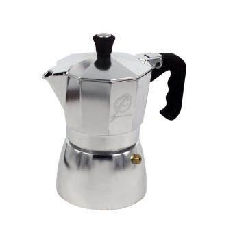 Moka Pot หม้อต้มกาแฟสด มอคค่าพอท ขนาด 3 ถ้วย (image 0)