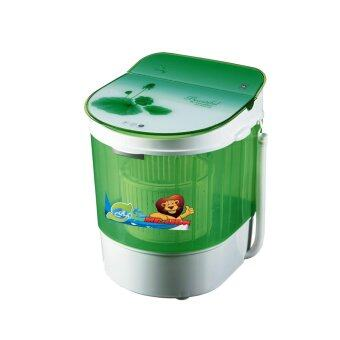 ต้องการขาย เครื่องซักผ้า ขายพร้อมตะกร้าช่วยปั่นหมาด Neo MINI Wash SW-311 สีเขียว