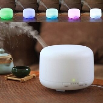 Oil Aroma Diffuser Ultrasonic Mist Humidifier LED Light - intl