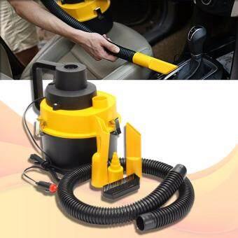 OMG เครื่องดูดฝุ่นรถยนต์ อเนกประสงค์ เครื่องดูดฝุ่นในบ้าน กระทัดรัด Car Vacuum Cleaner รุ่น CVC802 (Black-Yellow)