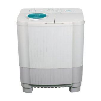 ต้องการขาย เครื่องซักผ้า ขนาด 8 กิโลกรัม POLYTRON โมเดล PWM 9565C (สีเขียวอ่อน)